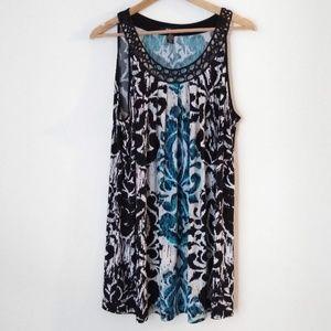 🦃 3/$20 Style & Co Print Loose Dress